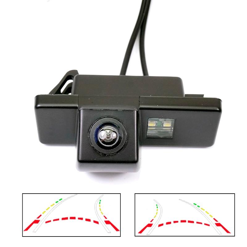 CCD HD Автомобильная камера заднего вида для Peugeot 408 308cc 301 Peugeot RCZ 307 Cross 2C Хэтчбек Динамическая траектория движения камеры