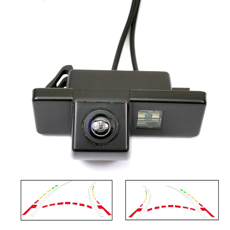 دوربین HD دوربین نمای عقب برای پژو 408 308 307cc 301 Peugeot RCZ 307 Cross 2C هاچ بک دوربین مداربسته مسیر پویا