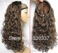 Парики горячая распродажа половина головы волосы ну вечеринку парик курчавый парик синтетический для женщин бесплатная доставка