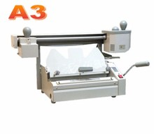 High Quality A3 Size Perfect Book Binding Machine with Dust free Spine Roughening Unit Book Binder Office small publish company rd jb 5 desktop hot melt glue binding machine booklet maker glue book binding machine glue book binder machine