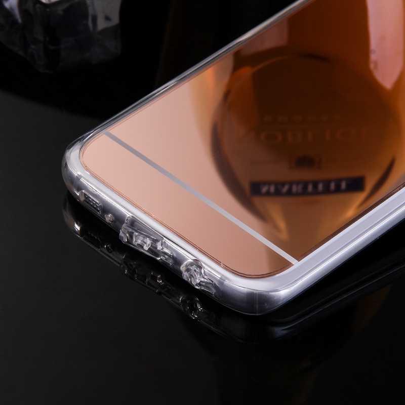 יוקרה Etui עבור Samsung Galaxy S5 S4 S3 A3 A5 A7 2016 מקרה מראה TPU חזרה טלפון כיסוי עבור סמסונג גלקסי S7 S6 קצה A8 G530 +.*