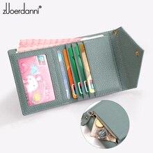 Women  Mini Envelope  Wallets  Tassel Pendant  Cowhide Short  Wallets Coin pocket Leather Lady Card Holder Purse