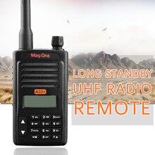 Walkie Talkie Mag One A2D+ UHF 403-470MHz 5W Portable Two Way Radio handle interphone Ham CB radio Transceiver(for motorola)