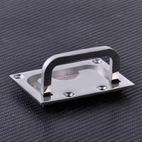 New 316 Stainless Steel For Boat Marine Caravan Flush Hatch Locker Cabinet Lift Pull Handle Hardware