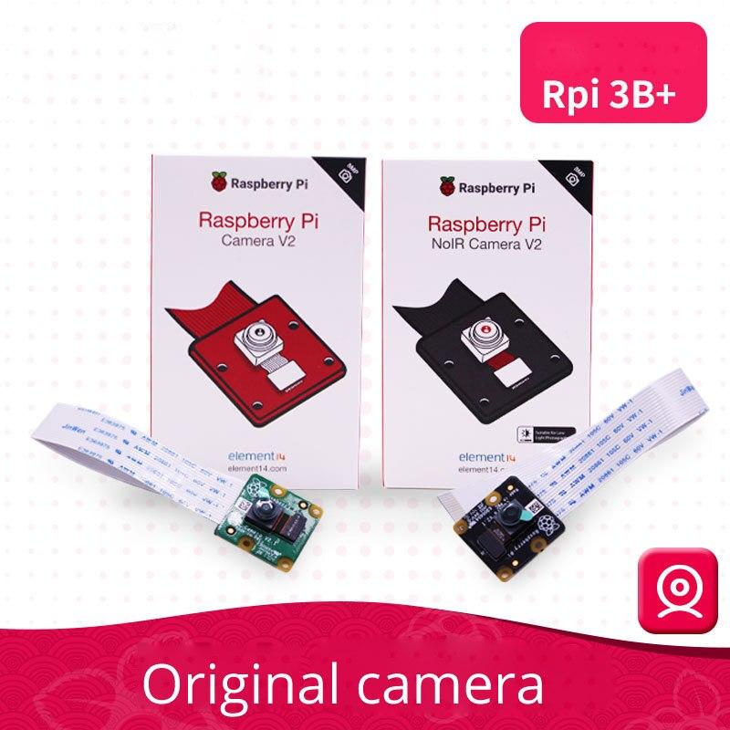 8 millions de pixels d'origine Raspberry Pi 3 modèle B + Module caméra 8 mégapixels IMX219PQ capteur 8MP Raspberry pi moniteur 1080 P VGA90