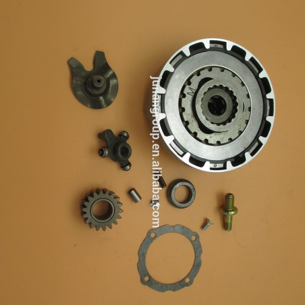 Semi Automatic Engine Clutch Assembly 18 Teeth 70cc 110cc