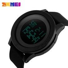 Hombre relojes 2016 Reloj SKMEI LLEVÓ el Reloj de Moda Correa de Silicona Hombres Reloj Deportivo Digital Para Hombre Relojes de Pulsera Del Deporte Reloj Resistente Al Agua