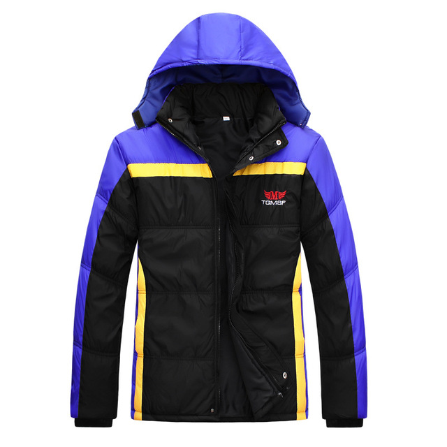 T china cheap wholesale 2016 autumn winter new Men fashion casual down coat outerwear male outside cotton-padded jacket
