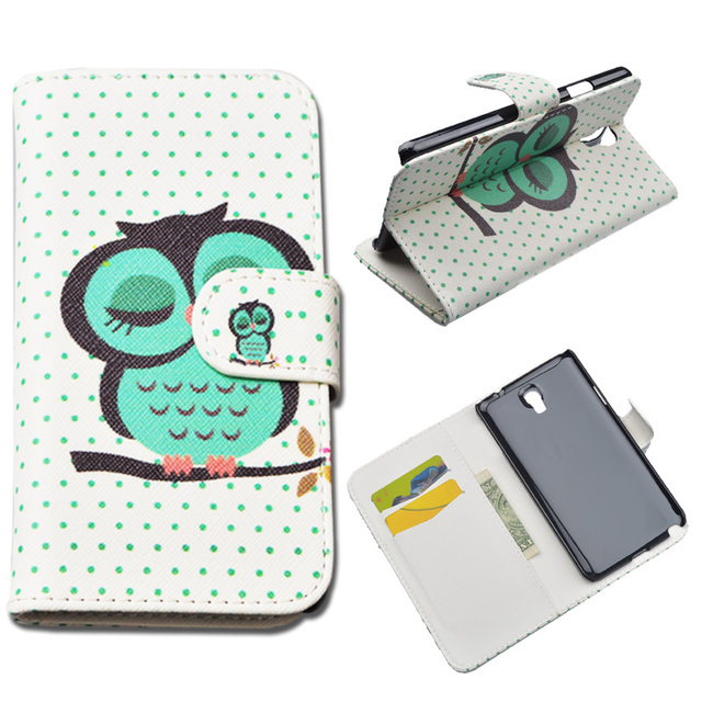 Fashion Flip PU Leather Case for Samsung Galaxy Note 3 Neo N750 N7505 N7502 SM-N750 SM-N7505 Phone Cover Cases with Card Holder