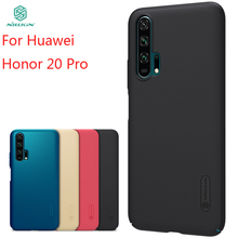 For Huawei Honor 20 pro Case Cover NILLKIN High Quality Fitted Cases For Huawei Honor 20 pro Super Frosted Shield цена и фото