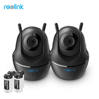Reolink Wire Free Battery WiFi Camera 2MP Full HD IP Cam Pan Tilt Security Indoor Video