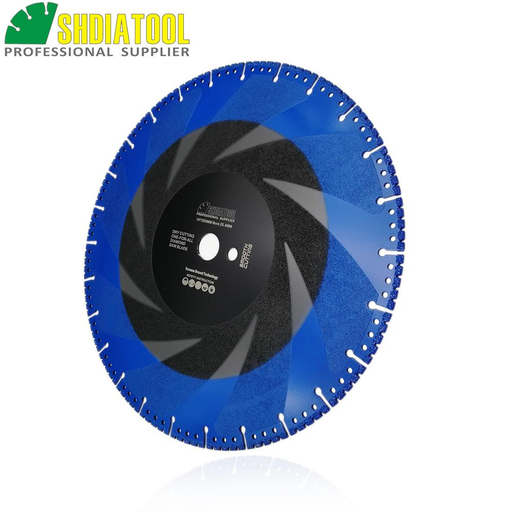 DT DIATOOL 2pcs 350mm/14 Vacuum Brazed Diamond Cutting Disc one for all Blade Rescue Saw Blade Cast Iron rebar Steel Pipe Stone - 3