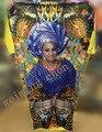 2017 новая мода упругие платья для женщин/леди, Элегантный Упругой Платье традиционной африканской печати платья для дам есть карман