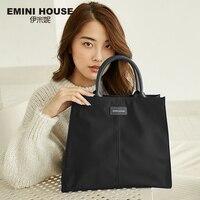 EMINI HOUSE нейлоновая вместительная сумка шоппер женские сумки для женщин 2018 сумка на плечо женская сумка через плечо для женщин
