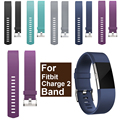Fashion sport soft silicone strap band for fitbit charge 2 bracelet watchband for fitbit chargr 2 bands