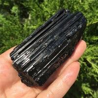 1 шт. натуральный черный турмалин кристалл драгоценный камень коллекционные предметы грубый камень минерал с лечебным действием, образцы к...