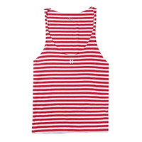 Striped Bodybuilding Tank Top Men Elastic Sexy Workout Summer Muscle Shirt Mesh Singlet Ropa Hombre Fitness Clothing Men 6B0010