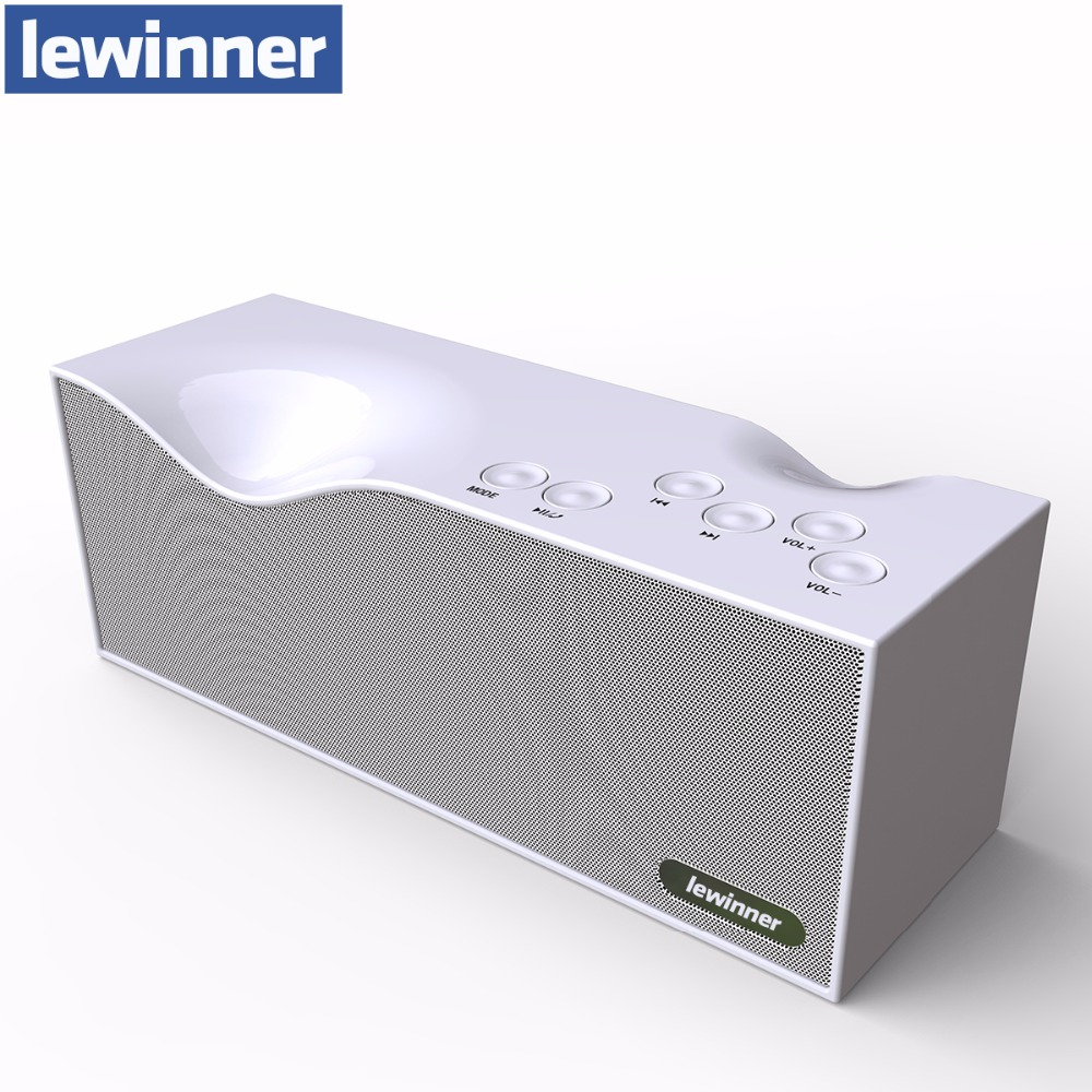 Bluetooth Speaker Original lewinner B1 3D Surround Stereo Speaker TF Slot USB FM Radio Line in Speakers with LED Screen altavoz t050 3w mini portable retractable stereo speaker w tf black golden 16gb max