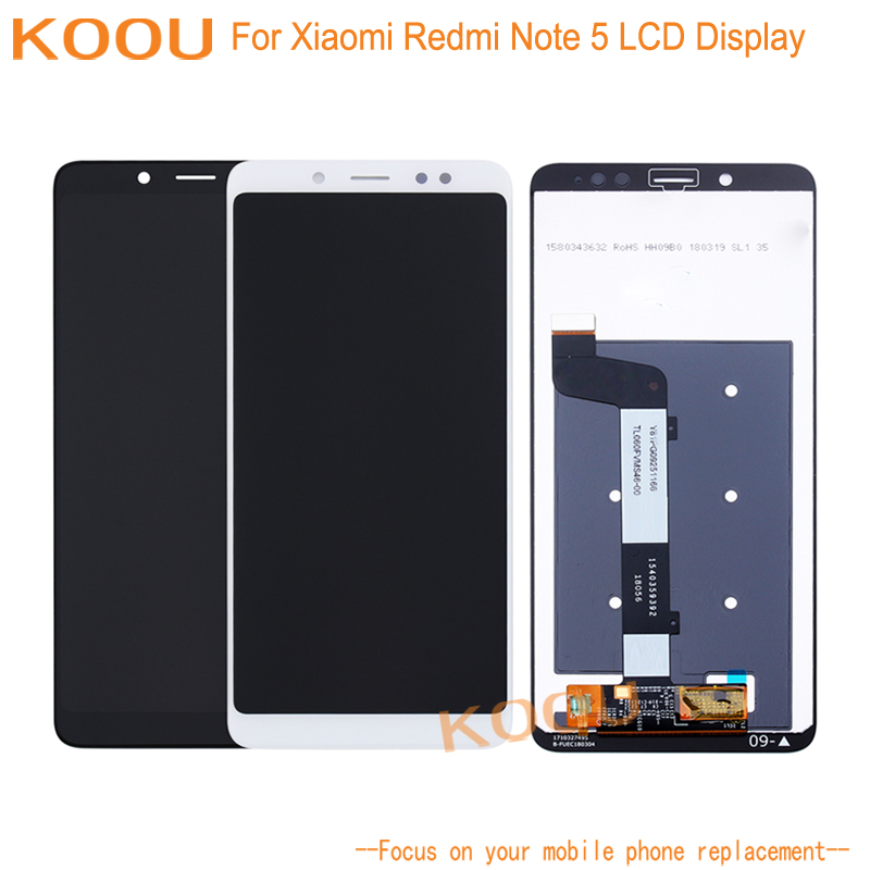 LCD Display For Xiaomi Redmi Note 5 5 99 inch Touch Screen Dightizer Assembly Replacement For
