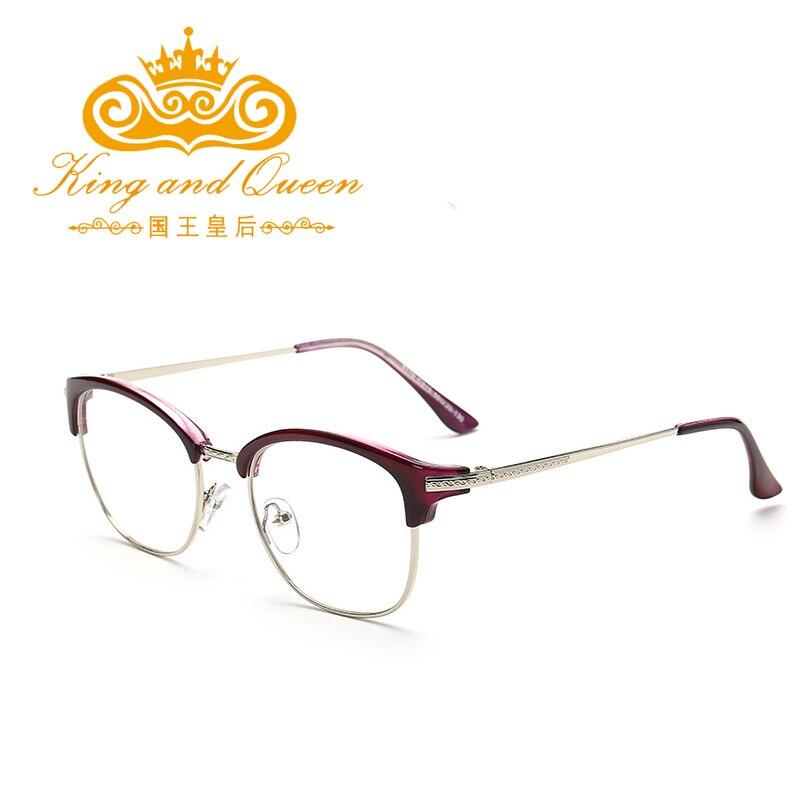 knq reading glasses for women fashion latest alloy frame famous brand designer luxury high grade flat panel lens