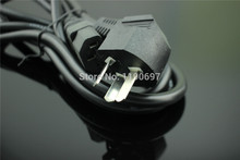 AC Power Cord cable lead Adapter 3-Prong Power Cord 10A 250V 1.8M 3*1mm2 Computer Printer Monitor Outlet plug 1Piece