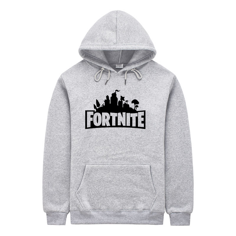 Fortnite Hoodie Sweatshirt for Women Men Hooded Pullover Oversized XXL Hoodies Streetwear Hip Hop Male Sweatshirts Letter