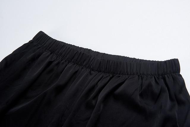 CISULI Pure Silk Stretch Pants For Autumn Kongfu Sports Pants Chinese Silk Factory Direct Sale Clothes China Free Shipping 3