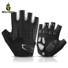 ROCKBROS Touch Screen Cycling Bike Gloves MTB Bike Bicycle Gloves Liquid GEL Pad Shockproof Half Finger Mittens Sports Gloves rockbros cycling bike bicycle gloves half finger gel anti shock breathable elastic bicycle gloves mtb motorcycle sports gloves