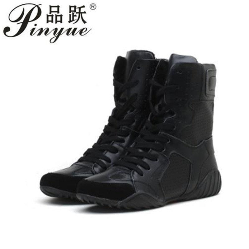 Luxury brand Hip-hop dancing cool white Shoes Fashion Boots High Top Trainers genuine leather martin Boots sneakers 2