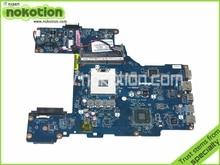 LA-7212P K000128610 for toshiba p770 laptop motherboard HM65 GMA HD3000 DDR3