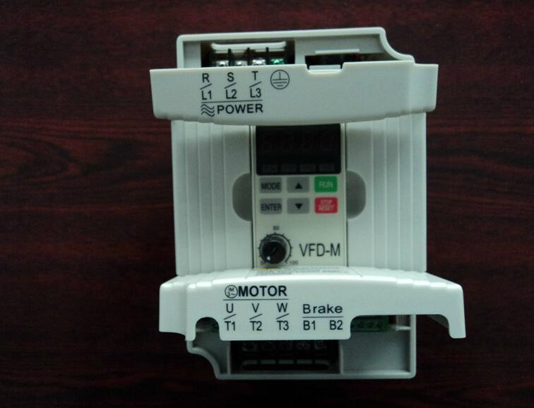New Original Frequency Converter VFD022M21A Single Phase 220V Output 3ph 0~240V 2.2KW 3HP 0.1~400Hz