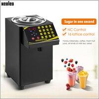 Xeoleo bolha chá dispensador de açúcar 9l frutose quantitativa machine16 grade automática máquina de frutose xarope dispenser sugar machine dispenser automatic dispenser machine -