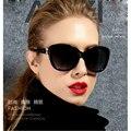 New Vintage Sunglasses Mulheres Marca Designer Óculos de Sol Luneta De Soleil Rodada do Olho de Gato Óculos de Armação de Metal Óculos De Sol Uv400
