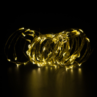 5M / 10M Remote Warm White Led Copper String LED Wire Light Lamp For Christmas Wedding Party Home DIY Decoration Waterproof
