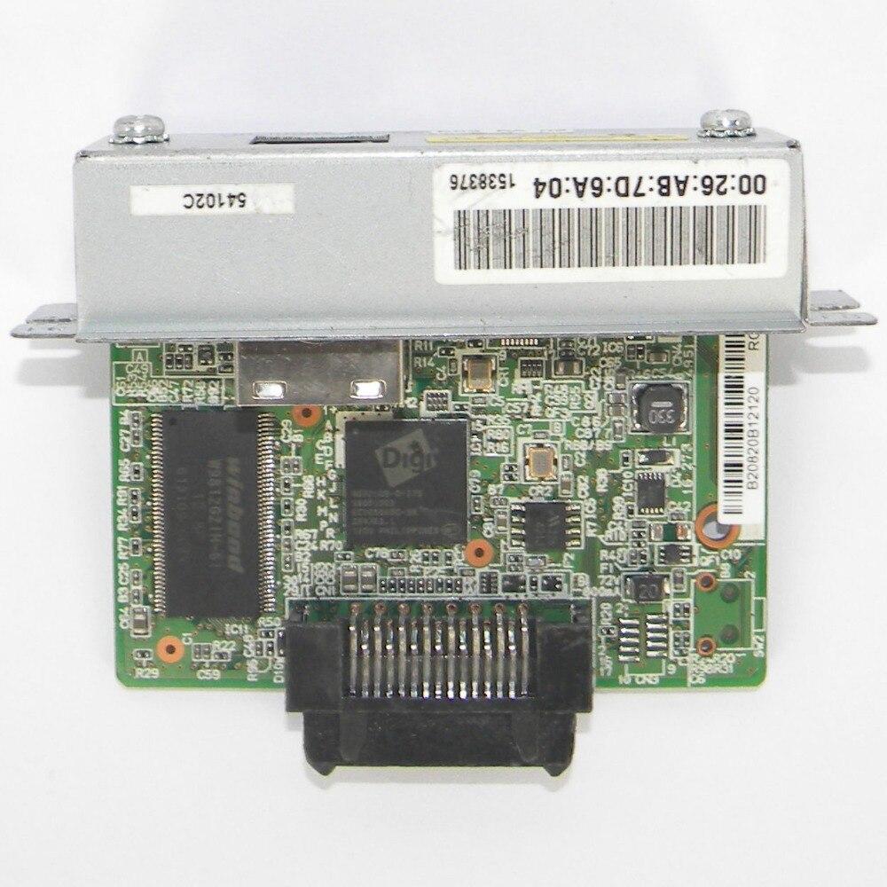 FOR Epson UB E03 M252A Ethernet Interface Card for TM Receipt TU220B 88IV 88V T81 T82 epson card card epson printer interface card - title=