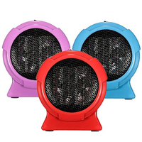 Electric Portable Heater Handy Durable Mini Room Fan Indoor Ceramic Space Heater Electric Winter Warmer Fan