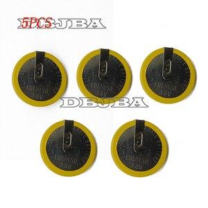 Литий-ионный аккумулятор LIR2450, 5 шт./упаковка, 3,6 В, 120 мА · ч, с ножками DIP2