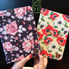 For Ipad Mini Case Mini 123 9 7 Tablet Pad Protector PU Leather Silicone Stand Floral