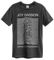 Joy Division 'Unknown Pleasures' T Shirt Amplified Clothing NEW & OFFICIAL 100% cotton tee shirt tops wholesale tee