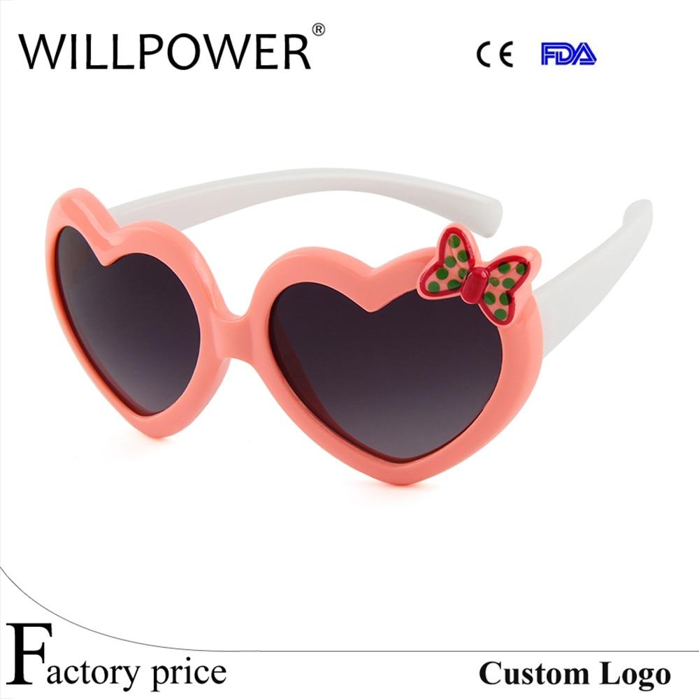 6e5b77464c TAC Silicone Funny Heart Children Polarized Sunglasses Child Sunglasses  Baby Glasses Goggle Kids Eyewear