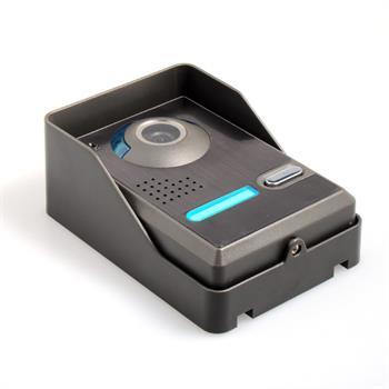 7 Inch Video Door Phone Doorbell Video Entry System Intercom Kit with 1-Outdoor Camera 3-Indoor Monitor Doorbell Entry System