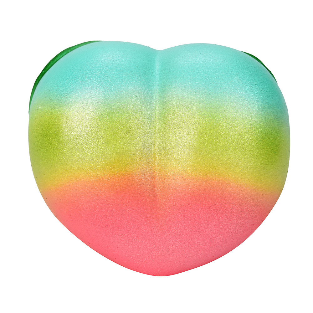 Rainbow Honey Peach Cream Scented Phone Straps Squeeze Squishy Slow Rising Antistress Fun Funny Gadgets Interesting Toys Gift