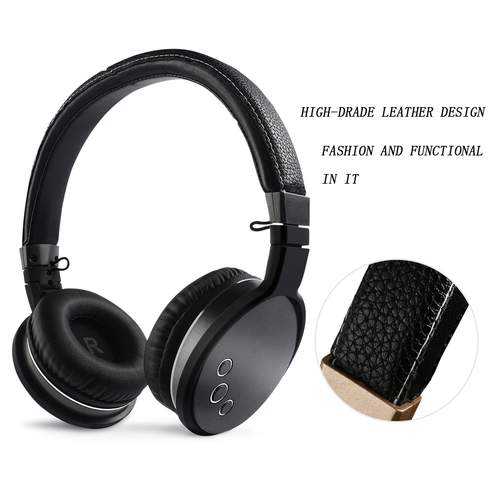 HuanYun Bluetooth Headphones Wireless Sport V4.2  headset Stereo Bass with microphone Foldable For Phone Tablet TV PC  BT016 2018 best original bingle b616 multifunction stereo with microphone fm radio for mp3 pc audio headset wireless headphones for tv