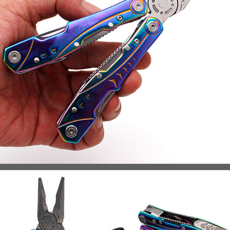 folding Knife Multi Tool Pliers EDC Tools Ganzo Multitools Folding Plier Fishing Pliers 19 in 1 Multifunction crimping tool