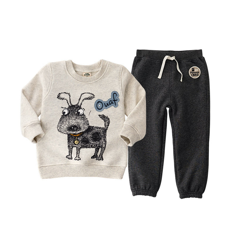 2pcs Cartoon Tshirt+Pants Clothing Sets for Kids clothes Children Boy Letter Hoodie Baby Girl Outfits Toddler Casual Sport Suits