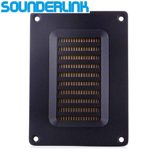 Sounderlink 1 pc 60 w alta potência transdutor de ar movimento tweeter transformador amt fita tweeter alto falante gama média completa