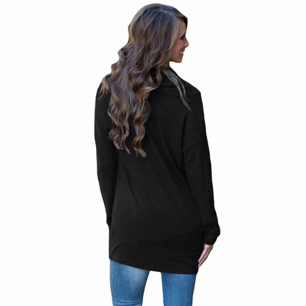 Black-Buttoned-Cowl-Neck-Long-Top-LC25977-2-3