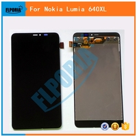 FLPORIA For Nokia For Microsoft Lumia 640XL LCD Diaplay Touch Screen Digitizer Assembly Black Free Shipping