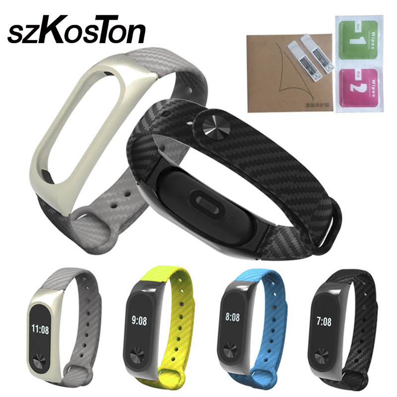 Xiaomi Mi Band 2 Bracelet Strap Miband 2 Colorful Strap Wristband Replacement Smart Band Accessories For