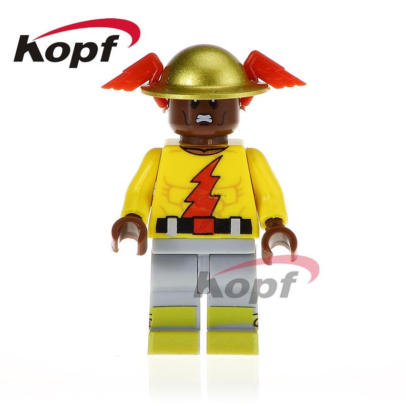 Single Sale Super Heroes Reverse Flash Guardian Joe Wolverine Bricks Education Building Blocks Children Gift Toys PG330